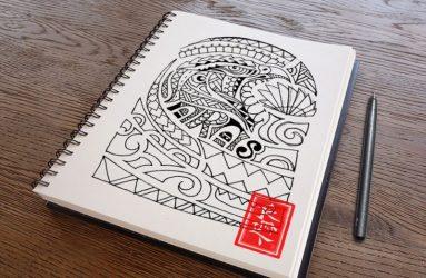 aras-maori-tattoo-maori dövmedesign