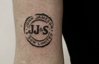 jameson-tattoo-jameson-logo-tattoo