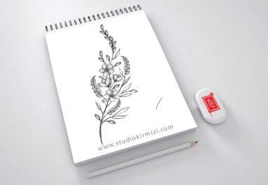 minimal-flower-tattoo