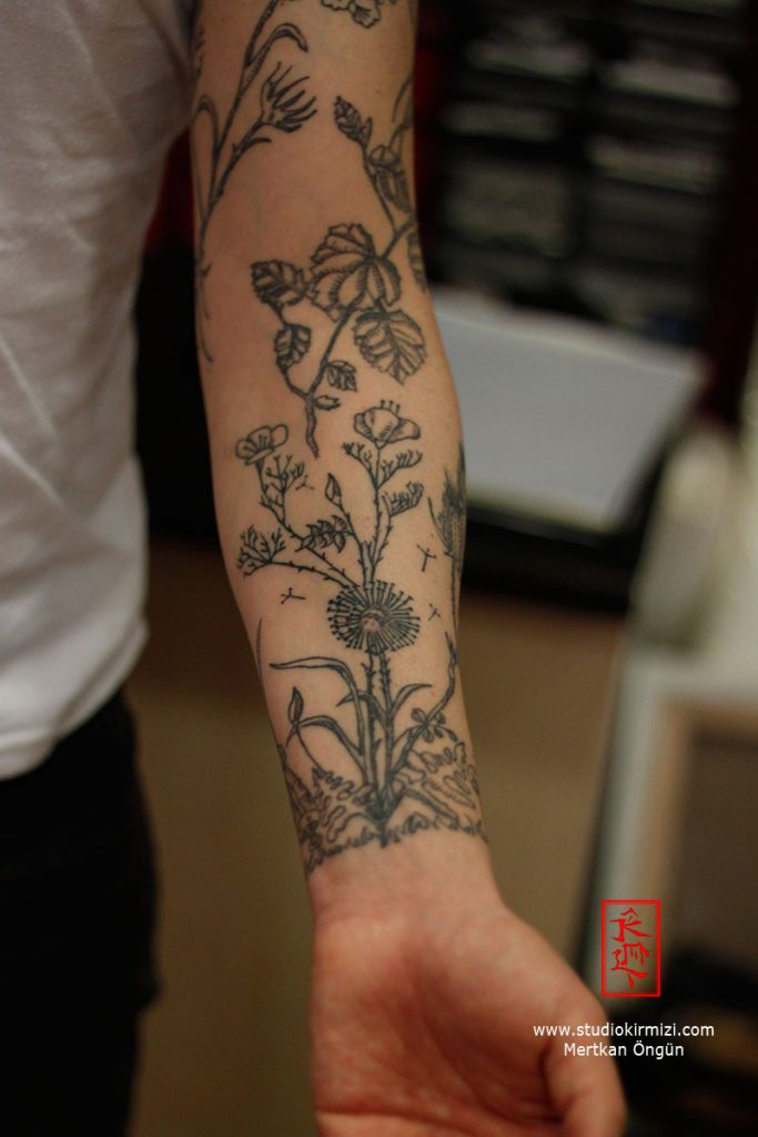 botanik flower tattoo6
