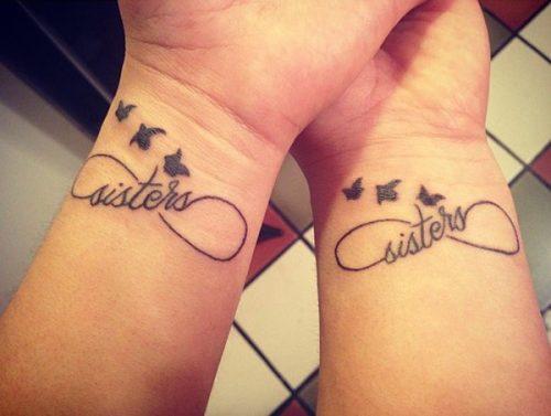 kiz kardes dovme modelleri sister tattoo idea19