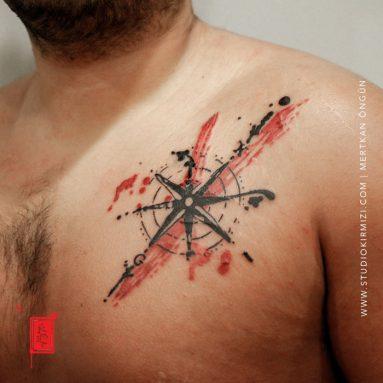 abstract-compass-tattoo-pusula-dovmesi-taksim-dovme-istanbul-dovme
