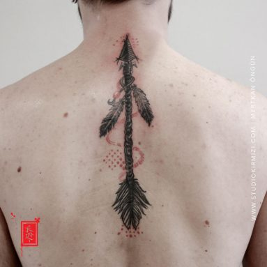 indian-tattoo-arrow-tattoo-ok-dovmesi