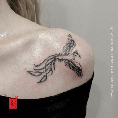 phoenix-tattoo-kus-dovmesi-bayan-dovme-modelleri
