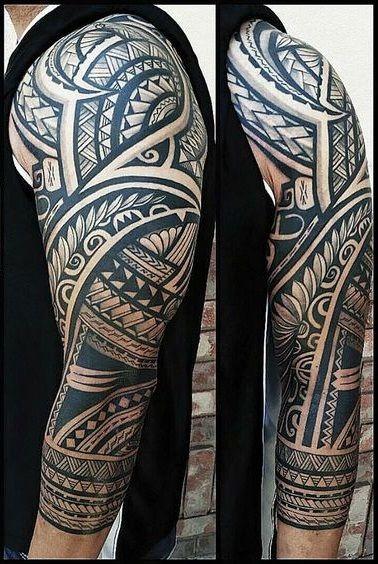 maori Dovme Maori Tattoo1