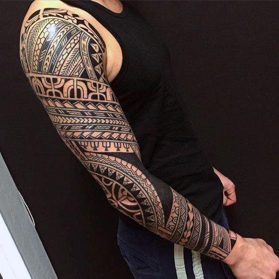 maori Dovme Maori Tattoo