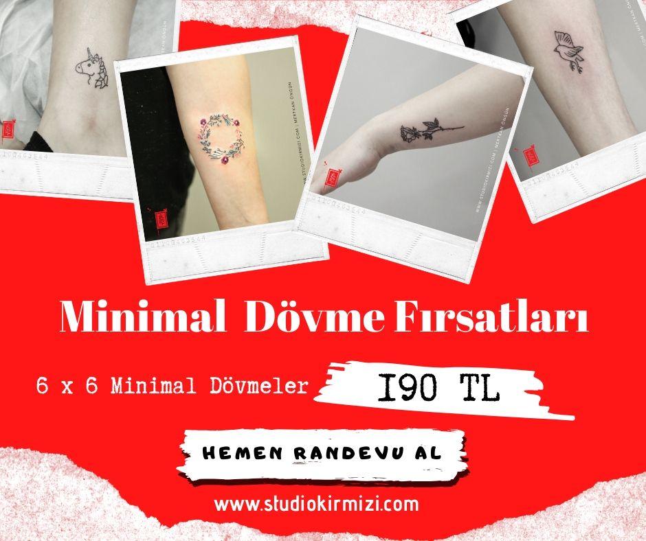 minimal dövme fiyatları