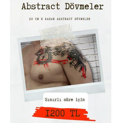 abstract dövme fiyatları