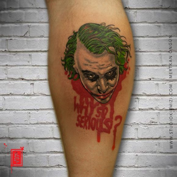 Joker dövmesi