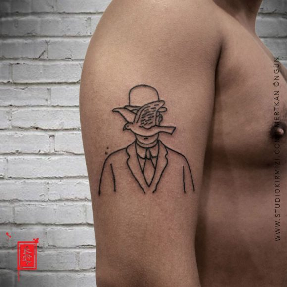 Rene Magritte Tattoo
