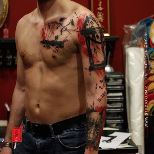 abstract-tattootrash-polka-tattoo-watercolor-tattoo-suluboya-dovme2
