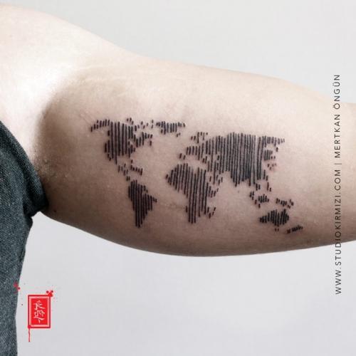 dunya-haritasi-dovme-world-map-tattoo-taksim-istanbul
