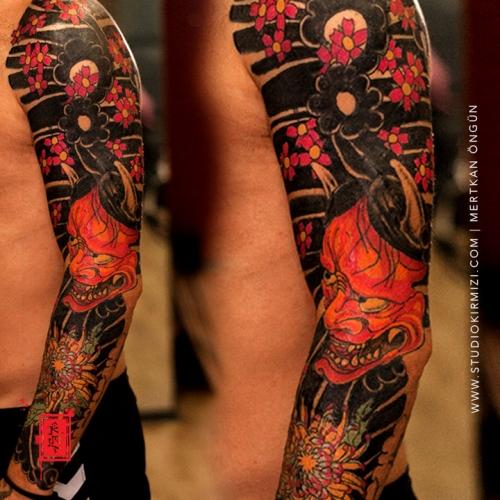 erkek-kol-dovme-modelleri-japanese-tattoo-hanya-tattoo