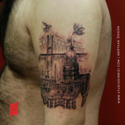 istanbul-dovmesi-kiz-kulesi-istanbul-tattoo-taksim-dovme