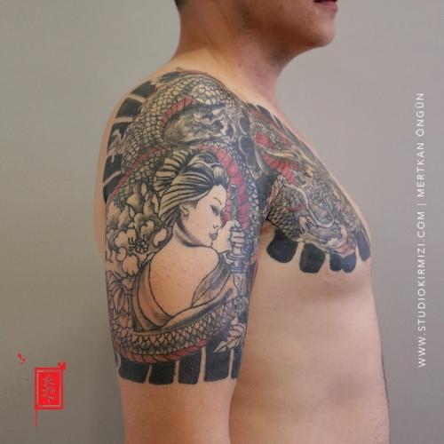 japon-dovme-Geysa-dovmesi-japanesse-tattoo-dragon-tattoo-taksim-istanbul