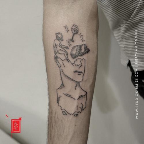 minimal-dovme-minimal-tattoo-taksim-istanbul-line-tattoo