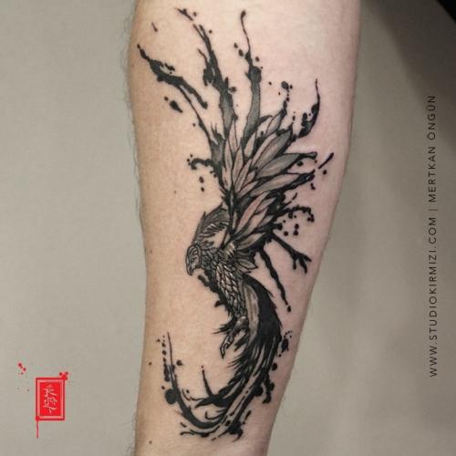 phoenix-tattoo-anka-kusu-dovmesi-erkek-dovme-kol-dovme-istanbul-taksim