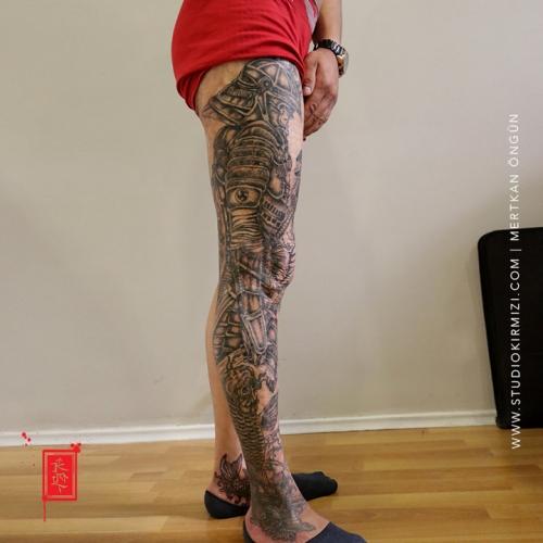 samuray-dovmesi-japon-dovme-samurai-tattoo-erkek-dovme-modelleri-bacak-dovme