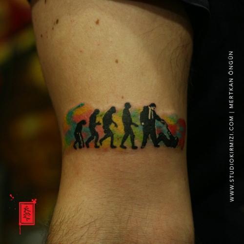 watercolor-tattoo-minimal-dovme-istanbul-taksim-dovme